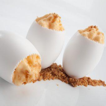 Picadillo de chorizo en su huevo