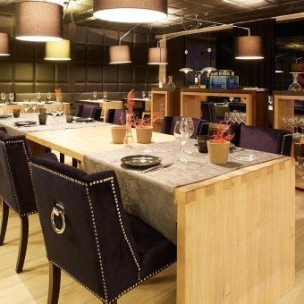 Vista general del restaurante El Bistró de Oviedo