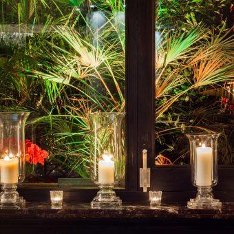 Detalle de unas velas